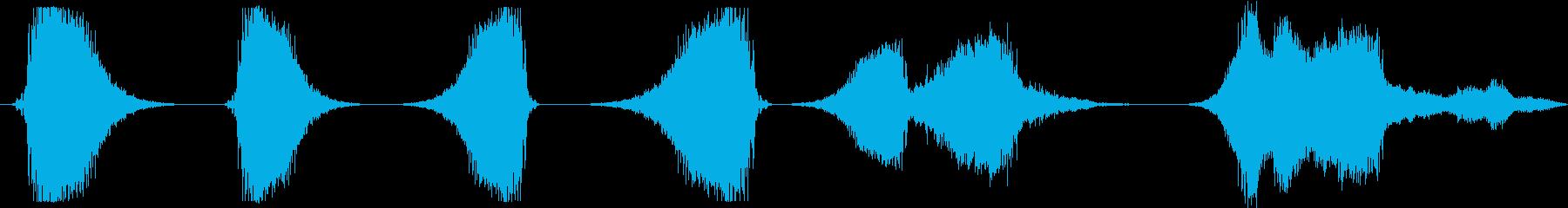 GRITTYアグレッシブスペースウ...の再生済みの波形
