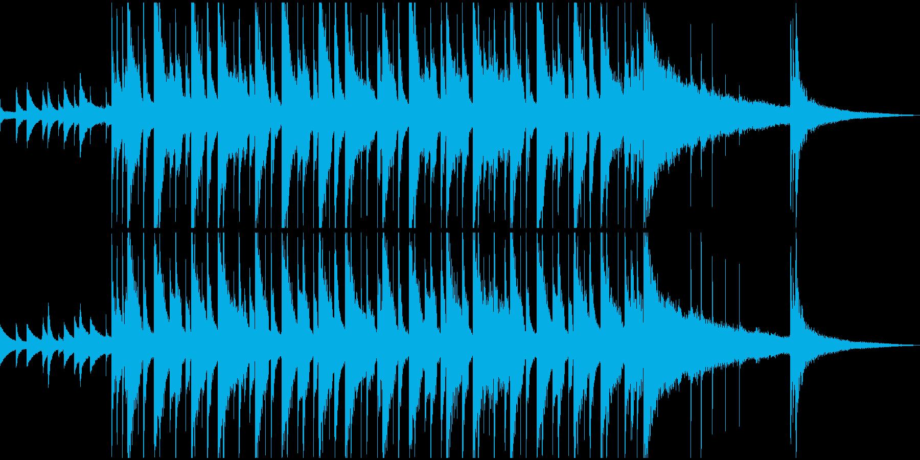 ちょっとハートフルな切ないOPの再生済みの波形