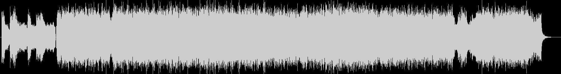 「HR/HM」「DARK」BGM91の未再生の波形