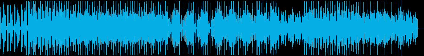 オープ二ングやピッタリ!軽快なテクノの再生済みの波形