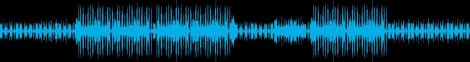 ループ可★ノリの良い軽快なアコギBGMの再生済みの波形