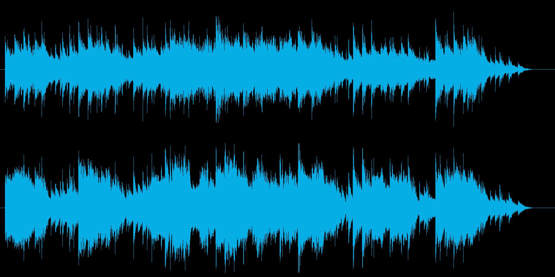 儚いアコースティックギター楽曲です。の再生済みの波形