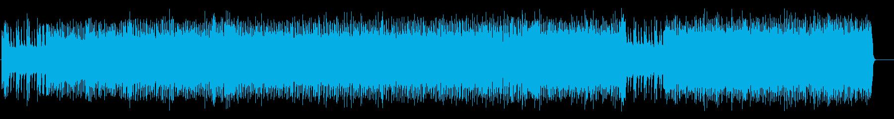 アメリカンロック/ポップ(フルサイズ)の再生済みの波形