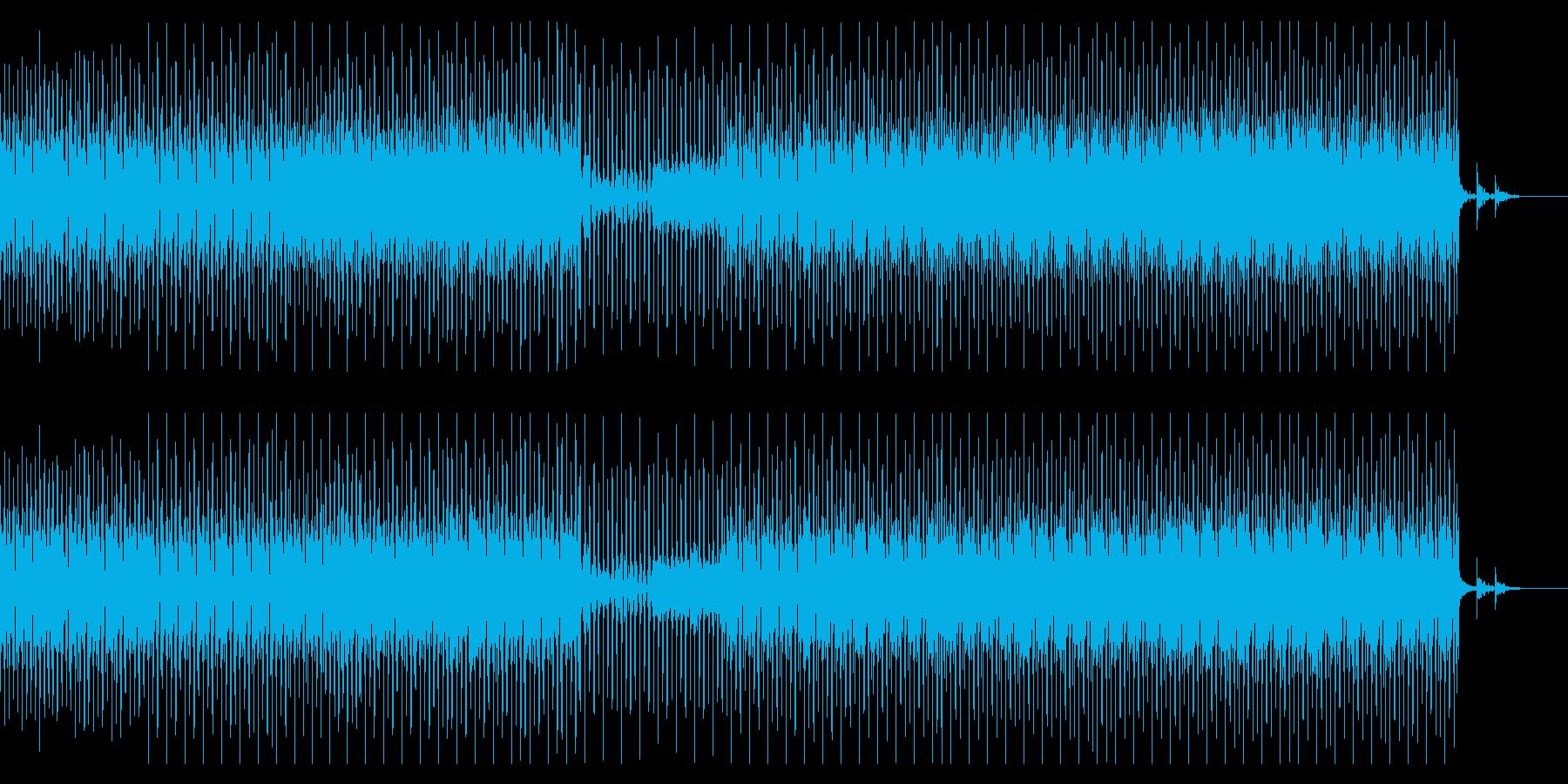 落ち着き系ハウスの再生済みの波形
