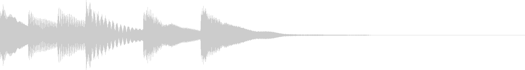 弦楽器の未再生の波形
