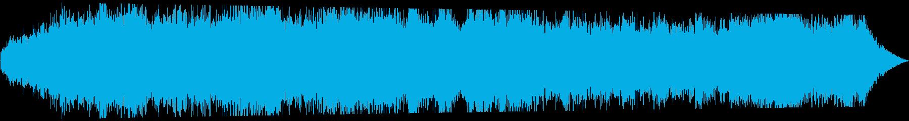 不安漂うBGMですの再生済みの波形
