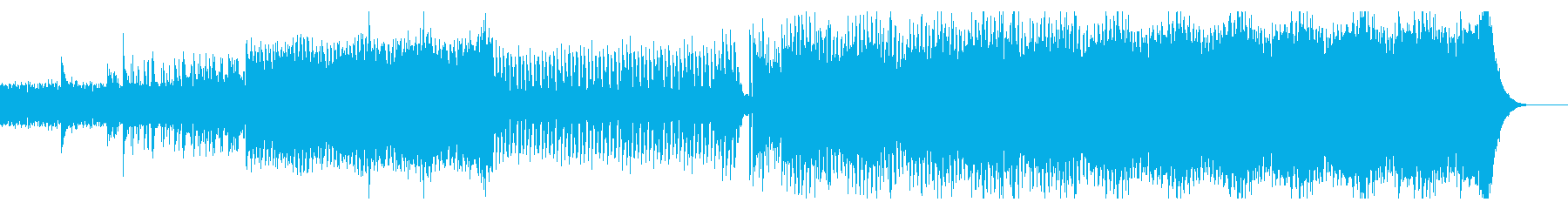 アップテンポで力強いエレクトロックの再生済みの波形