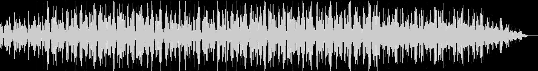 ほのぼのとしたポップスの未再生の波形