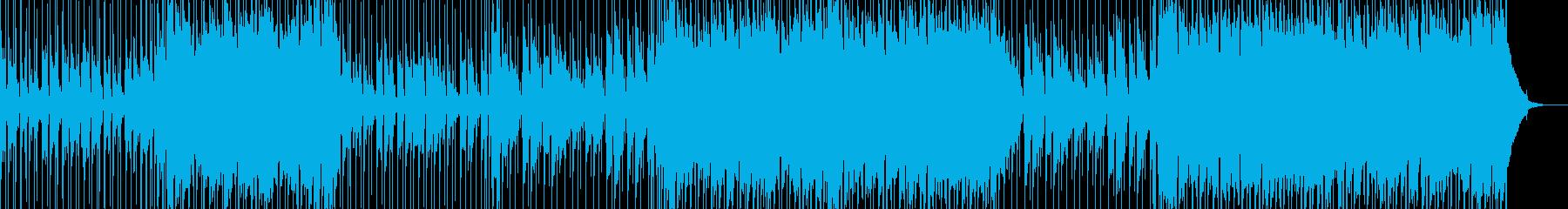 誠実で使いやすいポップロックの再生済みの波形