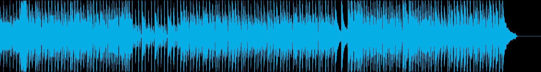 パズルゲーム向けゆるゆる系BGM メロ無の再生済みの波形