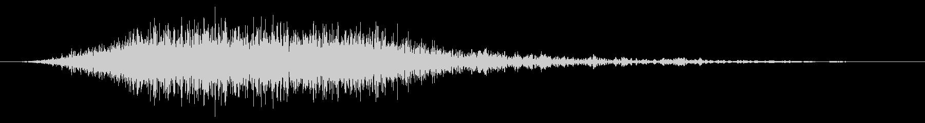 PC 駆動音02-04(強制シャットダウの未再生の波形