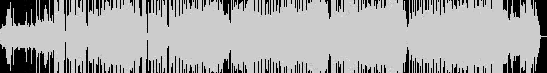 ツインギターのうなるハードロックインストの未再生の波形