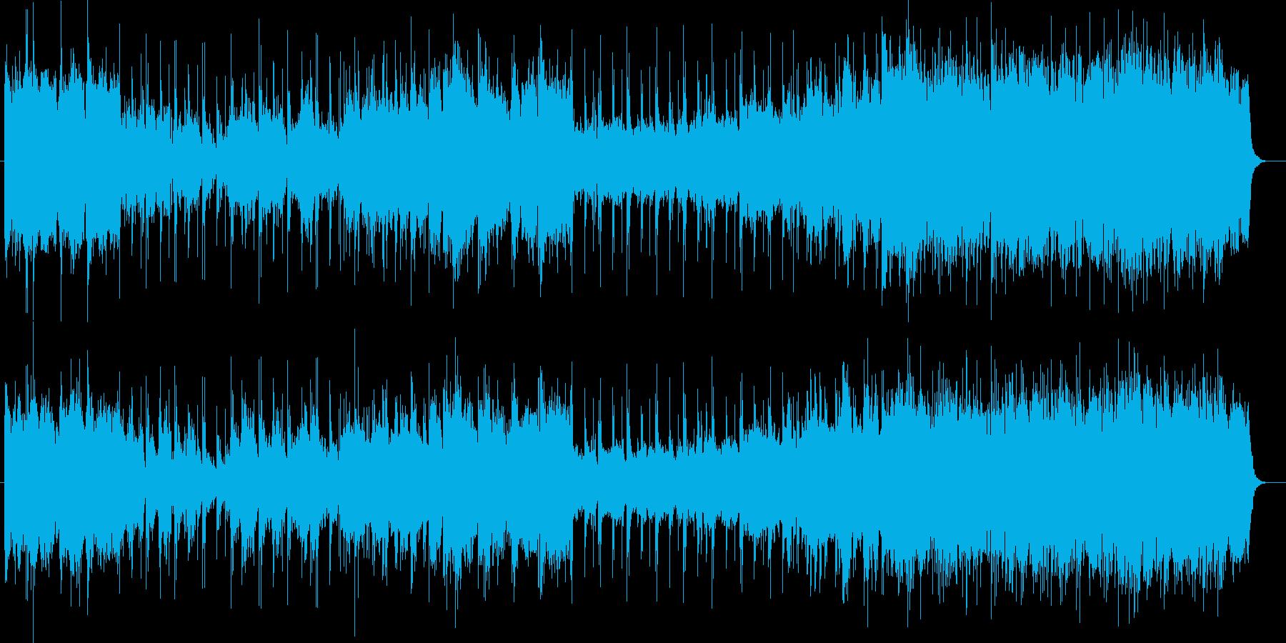メリハリのある情熱ポップの再生済みの波形