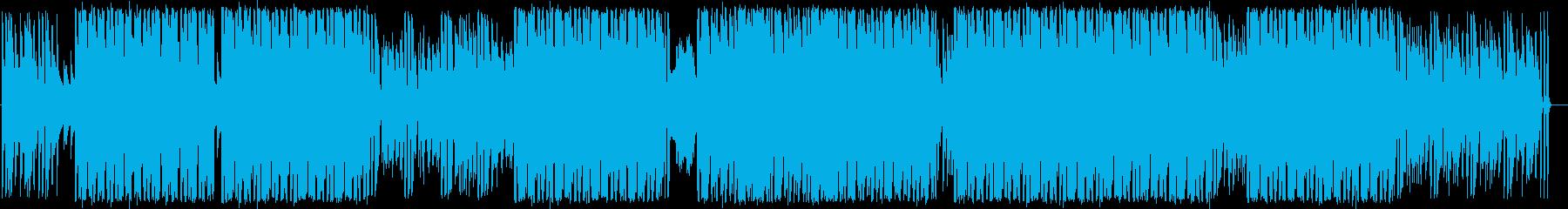 ヒップホップのようなファンキーなダ...の再生済みの波形
