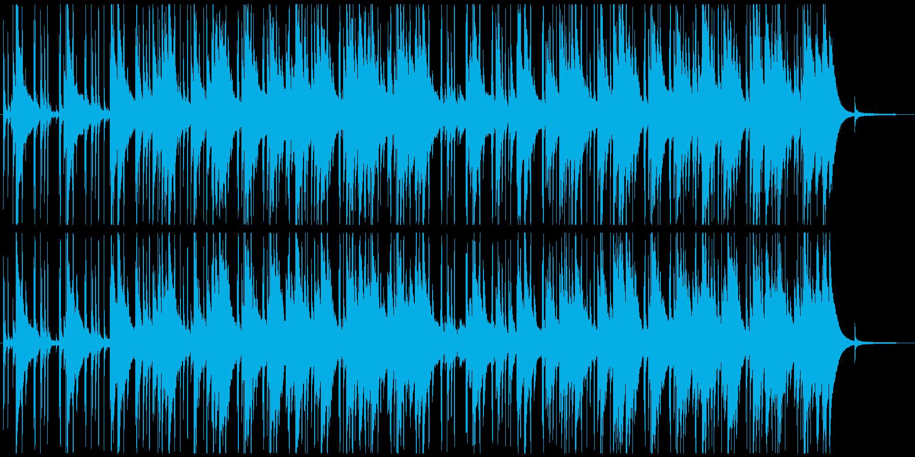 落ち着いた大人っぽいジャズポップの再生済みの波形