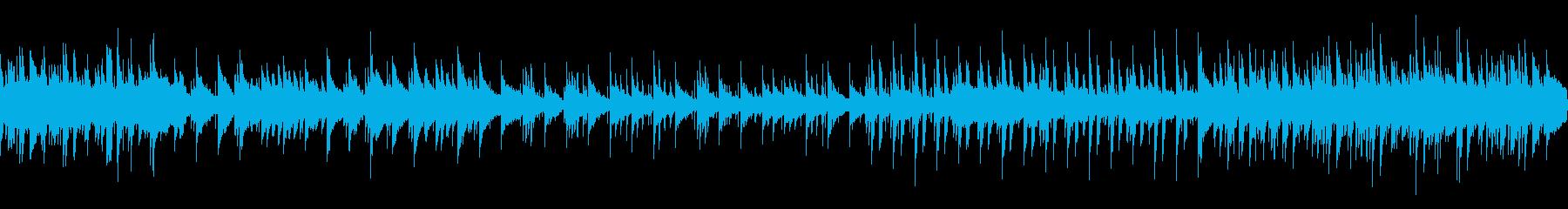 ピアノオーケストラループ音源。ウエディ…の再生済みの波形