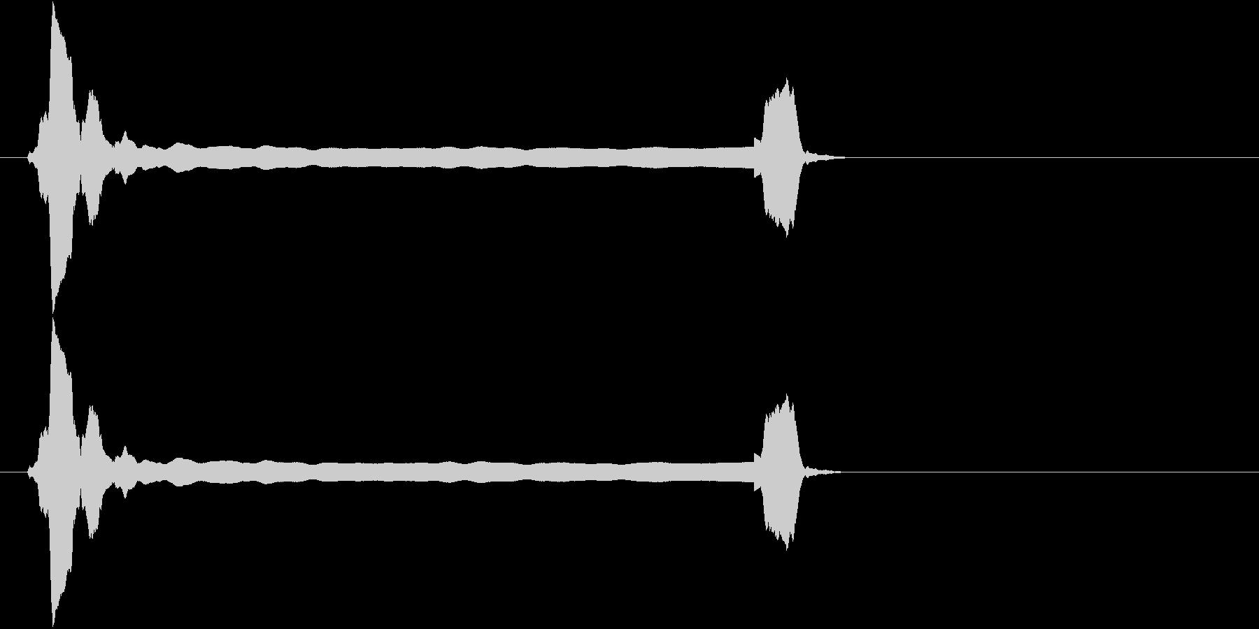 音侍SE「ピィーピッ」能管ひしぎ長さ普通の未再生の波形