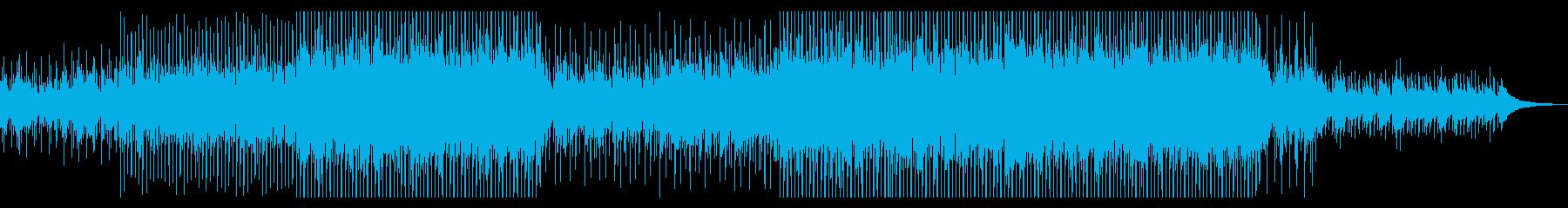 【メロディ抜き】おしゃれで綺麗なコーポレの再生済みの波形