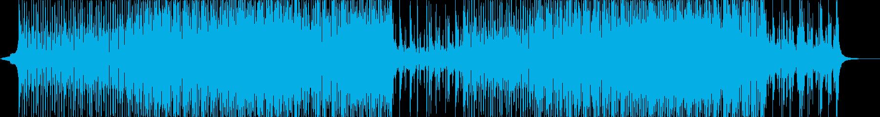 シンセ-エレクトロダンス-光-空間-CMの再生済みの波形