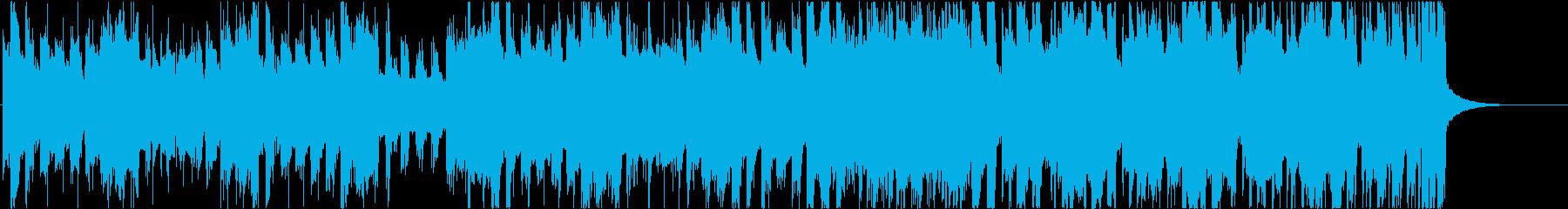 ドラマチックチップチューン ショート②の再生済みの波形