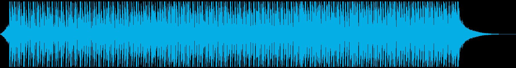 ハッピーダンス(55秒)の再生済みの波形