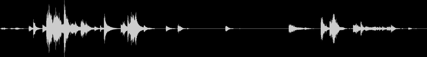 【生録音】装備品の音 金属 武器 15の未再生の波形