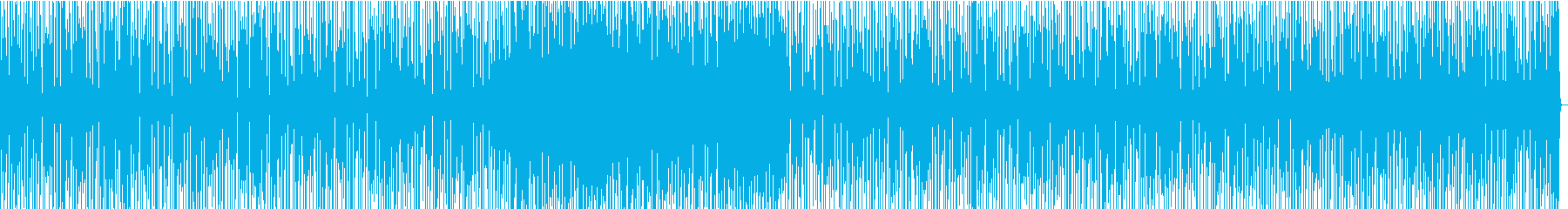 登場シーン向け・クールなギターリフの再生済みの波形