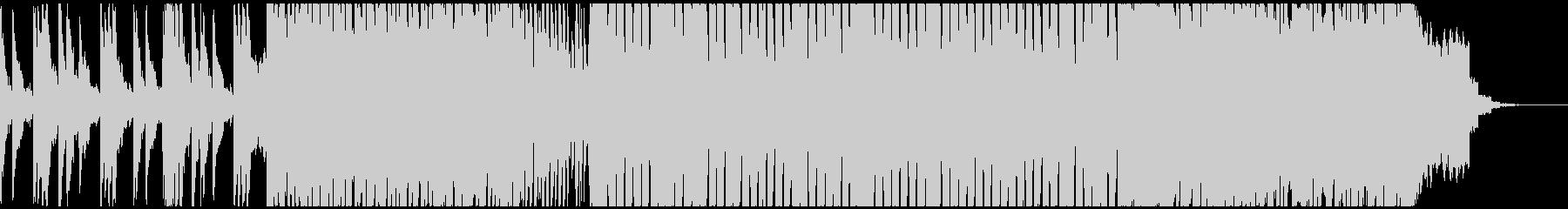 シンセベルを多用したオープニングの未再生の波形