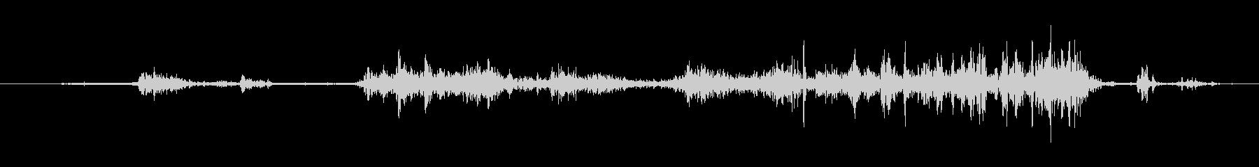 ゴミ スイープロックス02の未再生の波形