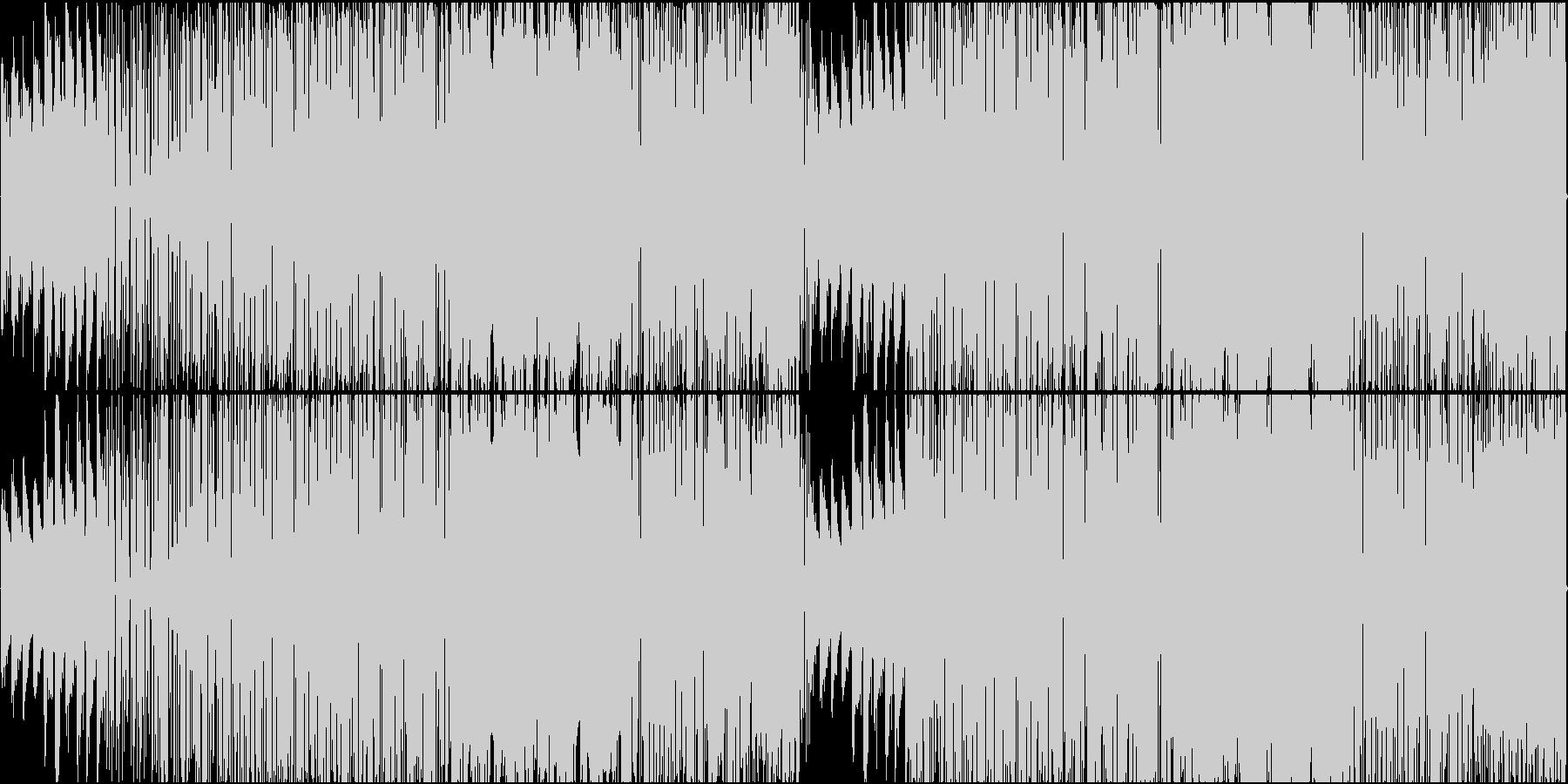 ジャズギターとオルガンのスムースジャズの未再生の波形