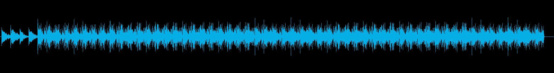 ミニマルなピアノ曲・自然系の再生済みの波形