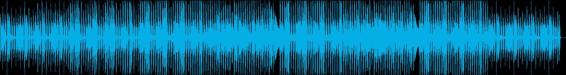 ほのぼの 犬の散歩 のん気なポップスの再生済みの波形