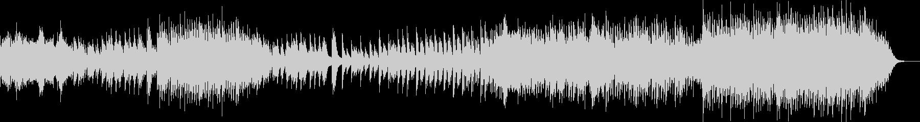 ほんのり和風なピアノポップバラードの未再生の波形