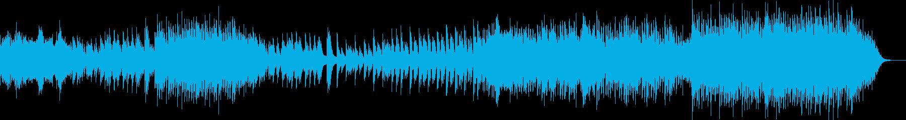 ほんのり和風なピアノポップバラードの再生済みの波形
