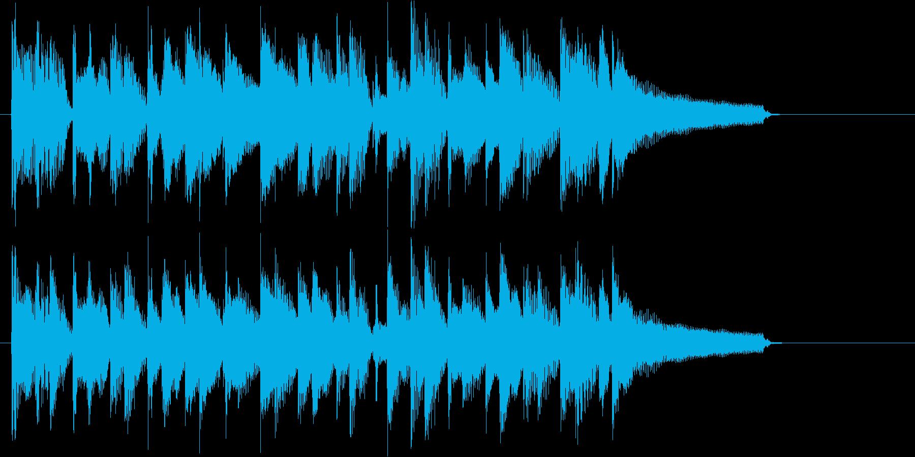 人気のウクレレ!流行のポップサウンド♪の再生済みの波形