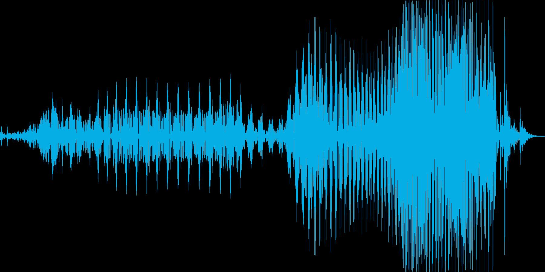 クリア!の再生済みの波形