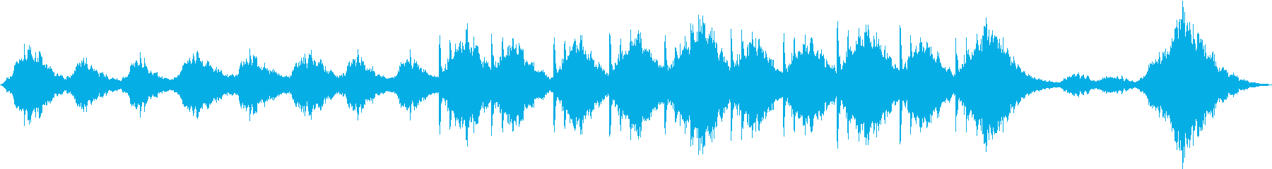 【ホラー系】何かいる。。。みたいなBGMの再生済みの波形