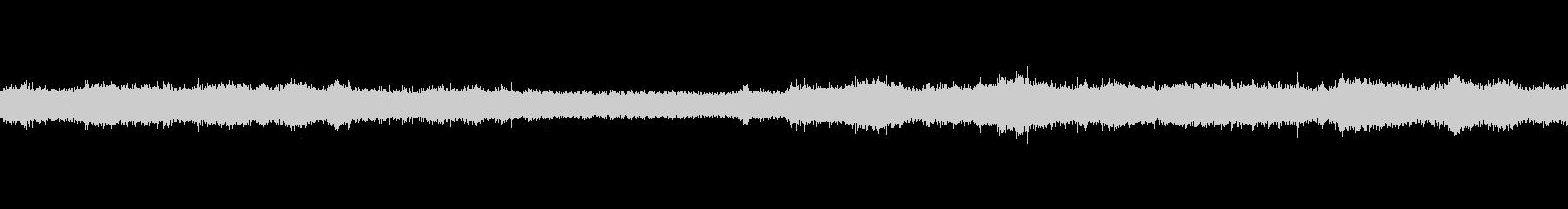夏 環境音の未再生の波形