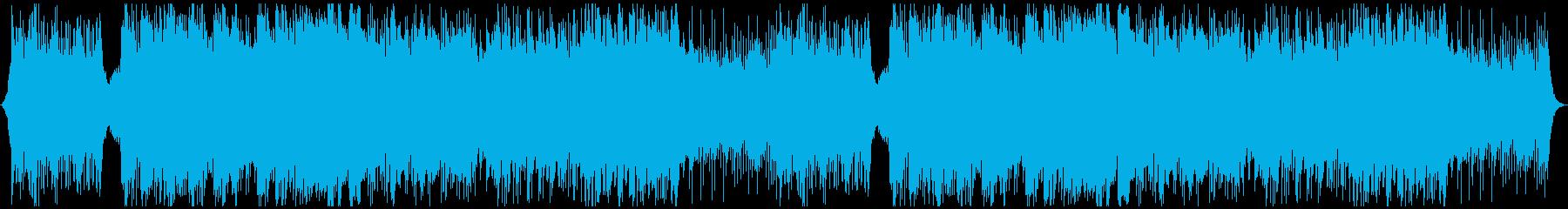 神秘的な民族音楽の再生済みの波形