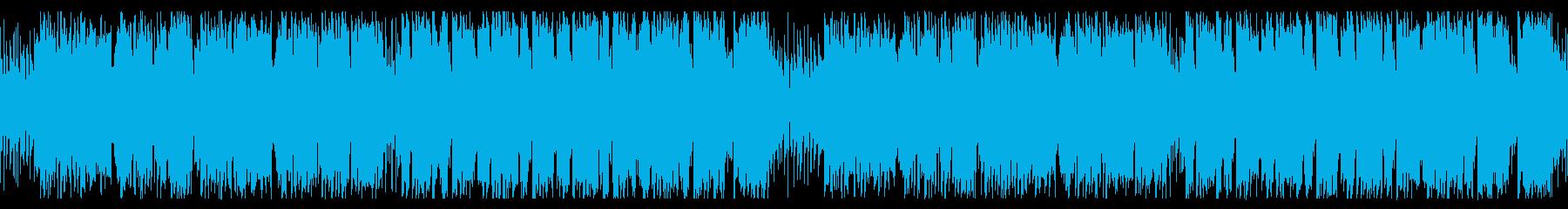 旅、山岳地帯なイメージの民族音楽_ループの再生済みの波形
