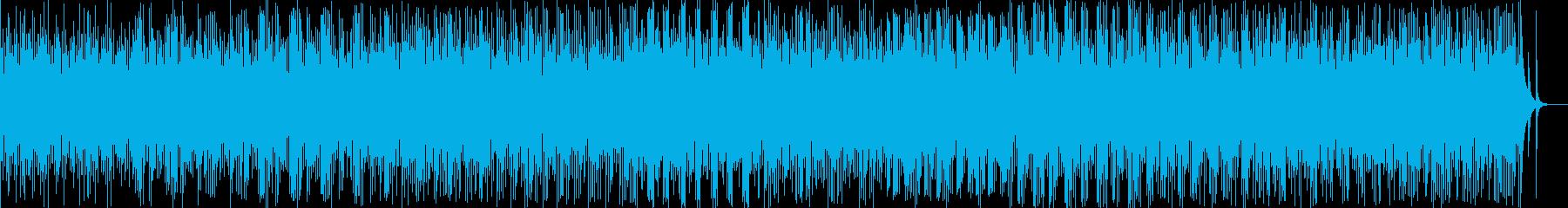 和風料理店に合う琴の音楽(琴のみ)の再生済みの波形
