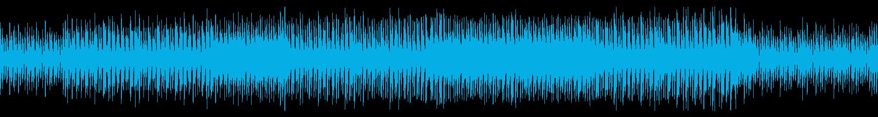 ループ】ガイコツの行進、軽快なハロウィンの再生済みの波形