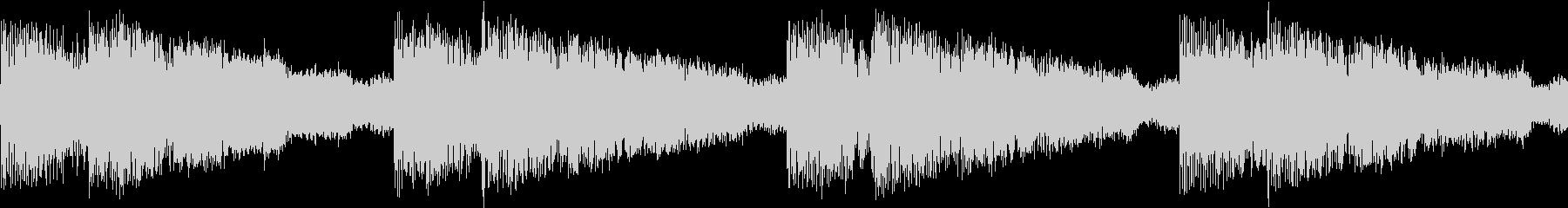 シンセ サイレン アナログ ピコピコ03の未再生の波形