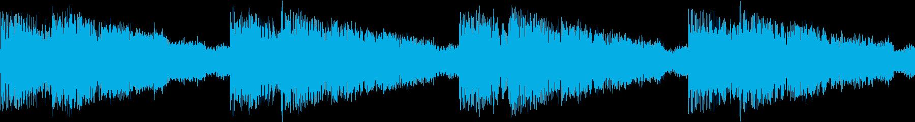シンセ サイレン アナログ ピコピコ03の再生済みの波形