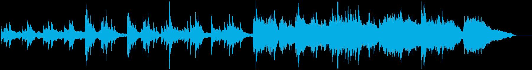 ファンタジーゲームのエンディングの再生済みの波形