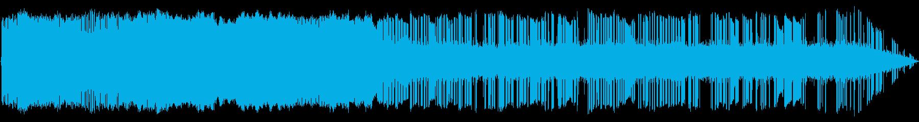 Interface Noiseの再生済みの波形