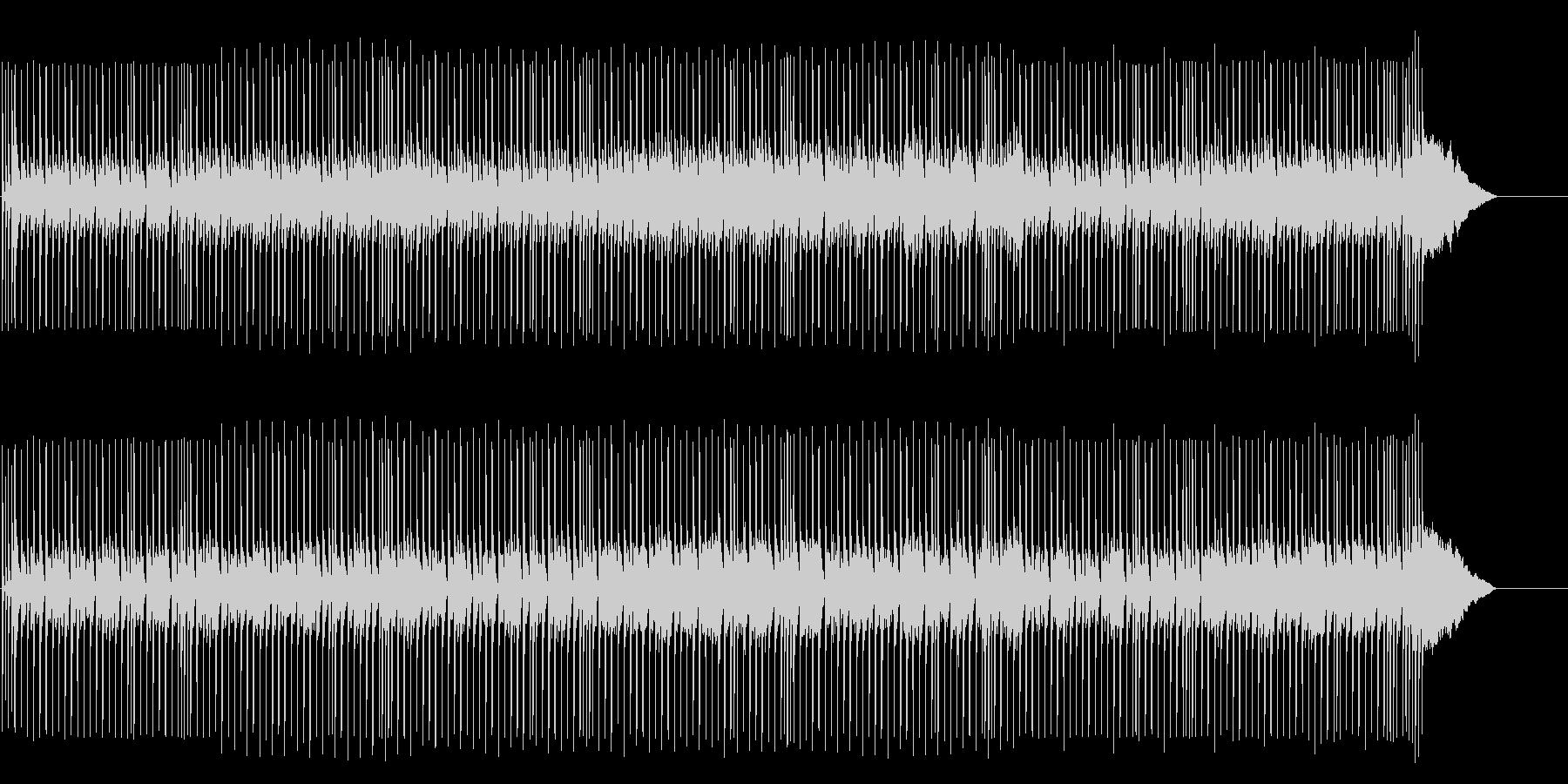 シリアスなテクノ/ポップ/マイナーの未再生の波形