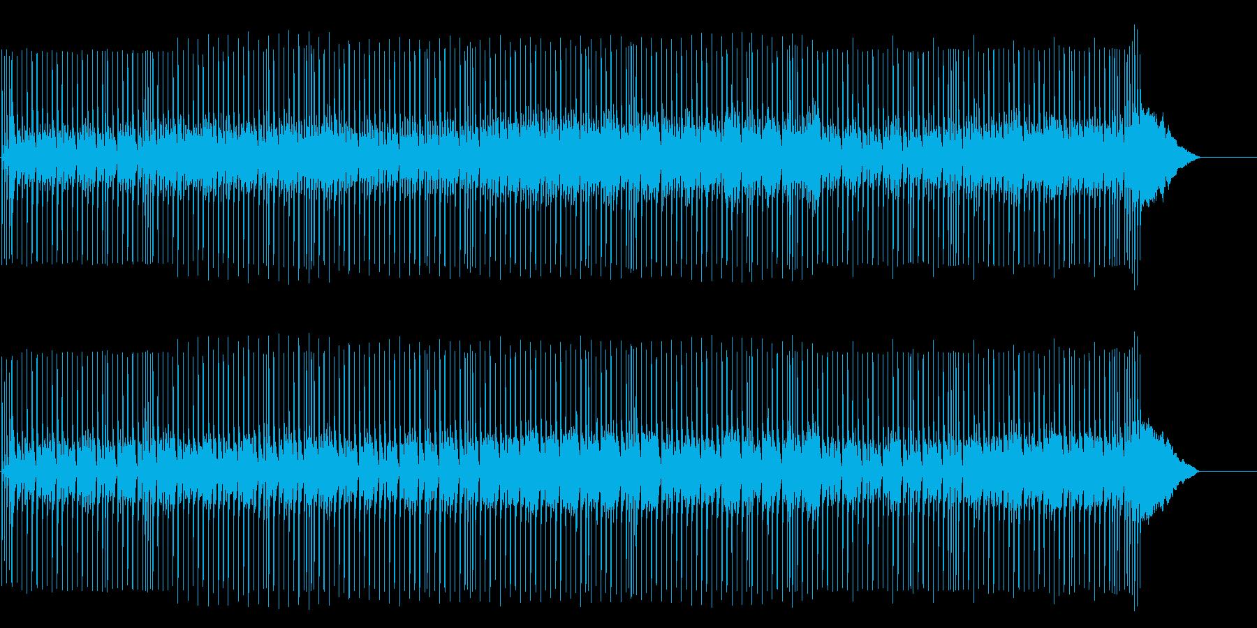 シリアスなテクノ/ポップ/マイナーの再生済みの波形