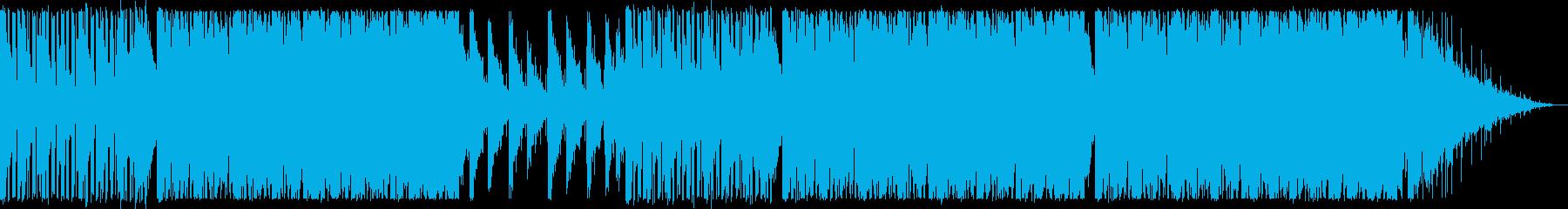涼しい/ディープハウス_No408の再生済みの波形