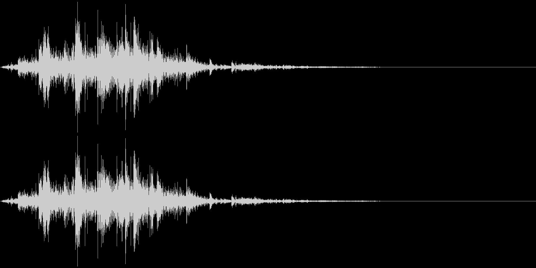 鎖を動かす音14【短い】の未再生の波形
